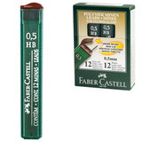 ������� �������� FABER-CASTELL (��������), HB, ����������, 0,5 ��, 12 ����