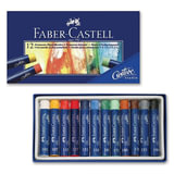 Пастель художественная FABER-CASTELL «Studio quality», масляная, 12 цветов, картонная коробка