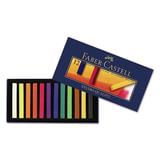 Пастель художественная FABER-CASTELL (Германия) «Gofa», мягкая, 12 цветов, картонная коробка