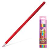 Карандаши цветные KOH-I-NOOR «Centi», 6 цветов, грифель 2,65 мм, заточенные, картонная упаковка с европодвесом