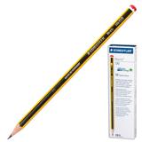 Карандаш чернографитный STAEDTLER (ШТЕДЛЕР, Германия) «Noris», HB, корпус черно-желтый, без резинки, заточенный