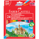 ��������� ������� FABER-CASTELL «ECO �����», 24 ��., � ��������, ��������� �������� � ������������