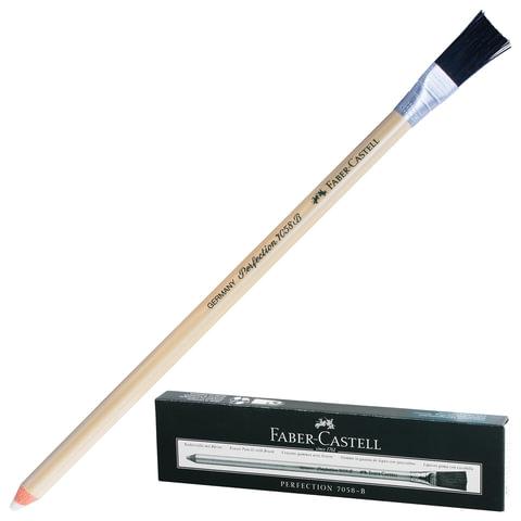 Корректор-карандаш для чернил и туши FABER-CASTELL «Perfection», с кисточкой