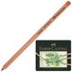 Карандаши цветные пастельные FABER-CASTELL «Pitt», 24 цвета, светоустойчивые, толщина грифеля 4,3 мм, металлическая коробка