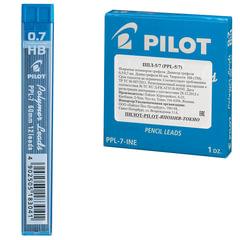 Грифель запасной PILOT PPL-7, HB, 0,7 мм, 12 штук