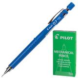 Карандаш механический PILOT Н-327, профессиональный, 0,7 мм, корпус синий, цанговый зажим, с клипом, ластик