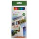 Карандаши цветные профессиональные «Сонет», 12 цветов, в картонная упаковка с европодвесом
