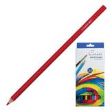 Карандаши цветные акварельные «Сонет», 24 цвета, картонная упаковка с европодвесом
