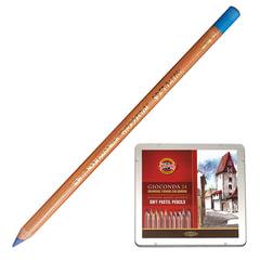 Карандаши цветные пастельные KOH-I-NOOR «Gioconda», 24 цвета, мягкие, металлическая коробка