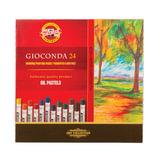Пастель масляная художественная KOH-I-NOOR «Gioconda», 24 цвета, круглое сечение