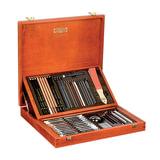 Набор художественный KOH-I-NOOR «Gioconda», 52 предмета, деревянный ящик