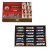 Пастель художественная KOH-I-NOOR «Toison D'or», 36 цветов, мягкая, круглое сечение, картонная коробка