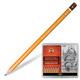 Карандаши чернографитные KOH-I-NOOR, набор 24 шт., 8В — 10H, без резинки, металлическая коробка