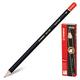Карандаш чернографитный STABILO «Exam Grade», HB, корпус черный, без ластика, заточенный