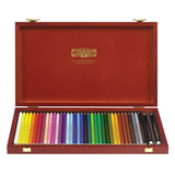 Карандаши цветные KOH-I-NOOR «Polycolor», 36 цветов, грифель 3,8 мм, заточенные, деревянный ящик