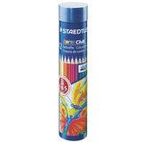 Карандаши цветные STAEDTLER (ШТЕДЛЕР, Германия) «Noris club», 12 цветов, металлический тубус