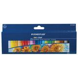 Пастель масляная художественная STAEDTLER (Германия) «Noris club», 25 цветов, круглое сечение
