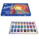 Краски акварельные художественные ГАММА «Студия», 24 цвета, кювета 2,5 мл