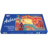 Краски акварельные художественные ГАММА «Студия», 24 цвета, кювета 2,5 мл, картонная коробка