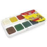 Краски акварельные ГАММА «Юный Художник», 10 цветов, медовые, без кисти, пластиковая коробка