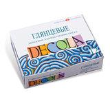 Краски акриловые художественные глянцевые «Декола», 12 цветов по 20 мл, в баночках