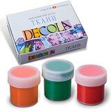 Краски акриловые по ткани «Декола», 12 цветов, 20 мл