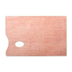 Палитра для рисования, деревянная, прямоугольная, 20×30 см, толщина 5 мм