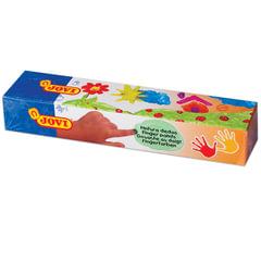 Краски пальчиковые JOVI (Испания), 5 цветов по 35 мл, на водной основе, в баночках