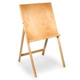 Мольберт напольный «Хлопушка», размер планшета 60×60 см, в собранном виде 60×120×5 см