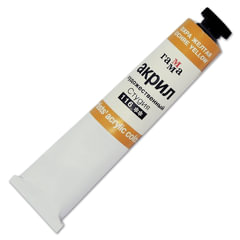 Краска акриловая художественная ГАММА, туба 46 мл, охра желтая (116)