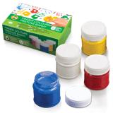 Краски пальчиковые KOH-I-NOOR, 6 цветов, 300 мл, на водной основе, картонная коробка