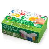 Краски пальчиковые KOH-I-NOOR «Лягушонок», 6 цветов по 50 мл, на водной основе, картонная коробка