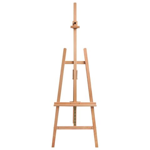 Мольберт напольный BRAUBERG (БРАУБЕРГ), бук, угол 60°, размер 63×174(231)х68 см, высота холста 126 см