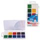 Краски акварельные ГАММА «Чудо-краски», 10 цветов, пластиковая коробка с европодвесом, без кисти