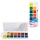 Краски акварельные ГАММА «Чудо-краски», 14 цветов, пластиковая коробка с европодвесом, с кистью,