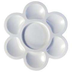 Палитра для рисования ЛУЧ «Цветочек», пластиковая