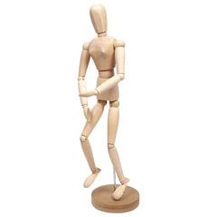 Манекен (кукла) человека художественный «Сонет», женский, дерево, высота 50 см