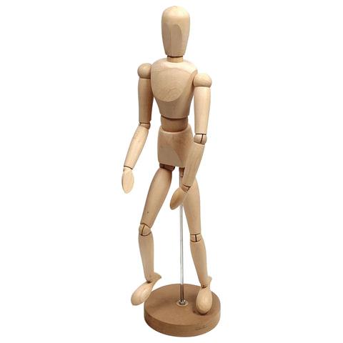 Манекен (кукла) человека художественный «Сонет», мужской, дерево, высота 50 см