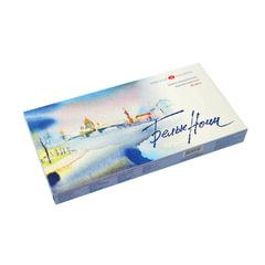 Краски акварельные художественные «Белые ночи», 12 цветов, туба 10 мл, картонная коробка
