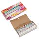 Краски акриловые «Ладога», 10 цветов, 46 мл, картоная коробка