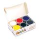 Краски акриловые по стеклу и керамике «Декола», 6 цветов, 20 мл