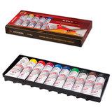 Краски акриловые художественные KOH-I-NOOR, 10 цветов, туба 40 мл, картонная коробка