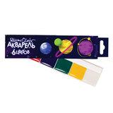 Краски акварельные POLIPAX, 6 цветов, медовые, без кисти, картонная коробка