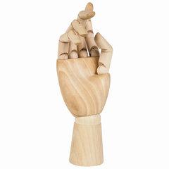Модель художественная BRAUBERG ART «Рука», высота 25 см, женская, правая, дерево