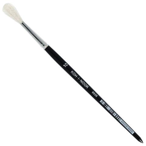 Кисть KOH-I-NOOR коза, круглая, №10, короткая ручка
