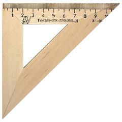 Треугольник деревянный, угол 45, 11 см, УЧД