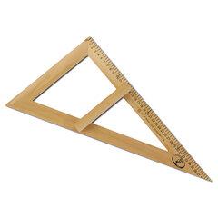 Треугольник для классной доски (треугольник классный), деревянный, 60×30×40 см, прямоугольный