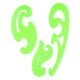 Лекало СТАММ «Neon Cristal», набор 3 шт., 25 см, 17 см,12 см, ассорти, европодвес