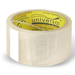 Клейкая лента 48 мм х 40 м, потребительская, UNIVERSAL, прозрачная
