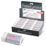 Резинка стирательная FABER-CASTELL (Германия) DUST FREE, виниловая, 41×18,5×11,5 мм
